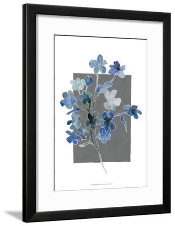 Blue Bouquet I-Grace Popp-Framed Art Print