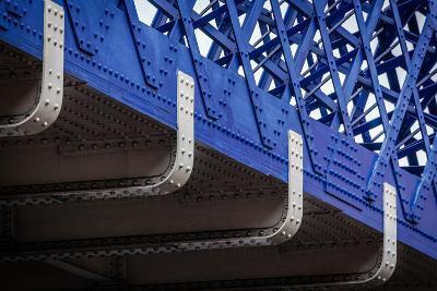 Blue Bridge Detail--Photographic Print