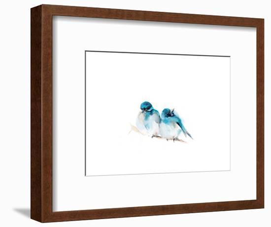 Blue Buds-Sophia Rodionov-Framed Art Print