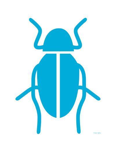 Blue Bug-Avalisa-Art Print