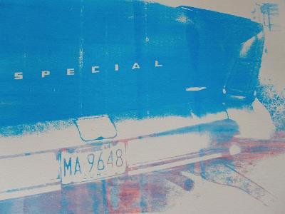 Blue Car-David Studwell-Giclee Print