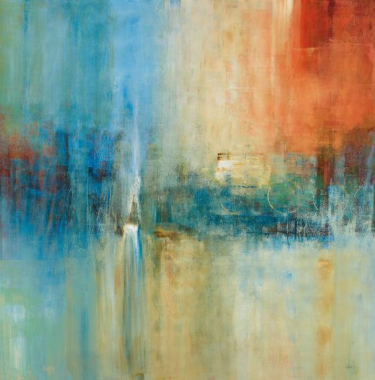 Blue Cascade-Simon Addyman-Art Print