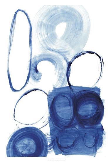 Blue Circle Study I-Jodi Fuchs-Premium Giclee Print