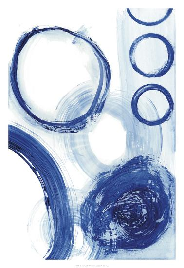 Blue Circle Study III-Jodi Fuchs-Premium Giclee Print