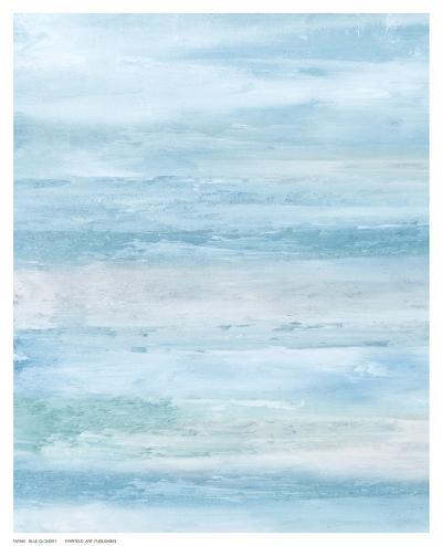 Blue Clouds I.-C^ Tice-Art Print