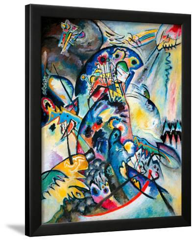 Blue Comb, 1917-Wassily Kandinsky-Framed Giclee Print
