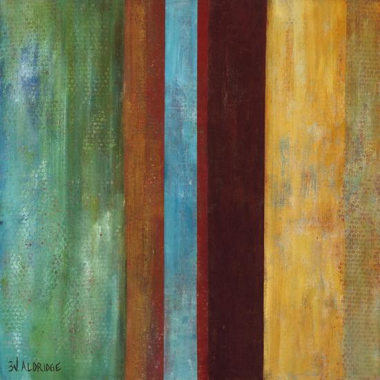 Blue Comes Thru I-Willie Green-Aldridge-Art Print