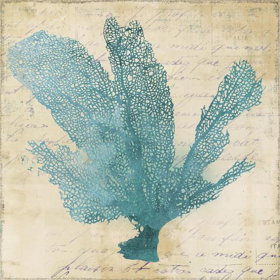 Blue Coral I-Anna Polanski-Art Print