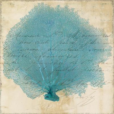 Blue Coral IV-Anna Polanski-Art Print
