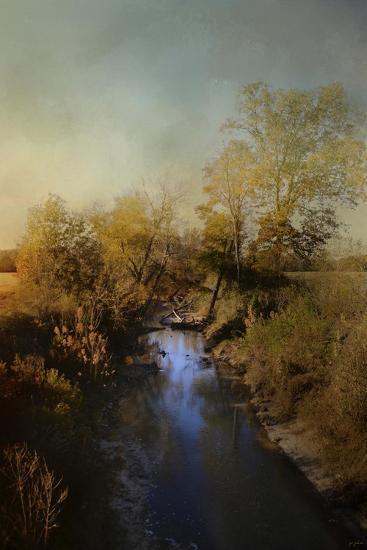 Blue Creek in Autumn-Jai Johnson-Giclee Print
