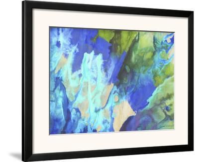 Blue Crush II-Jason Higby-Framed Art Print