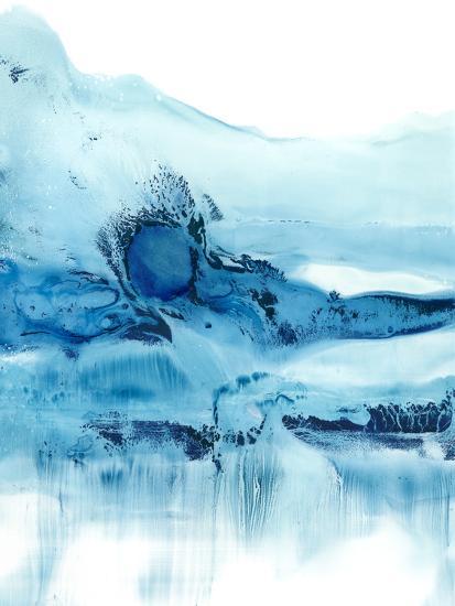 Blue Currents II-Ethan Harper-Art Print