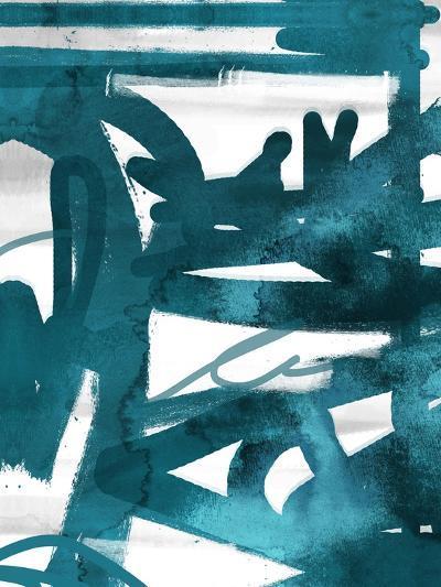 Blue Cynthia 1-Cynthia Alvarez-Art Print
