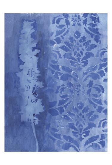 Blue Damask Delphinium-Smith Haynes-Art Print