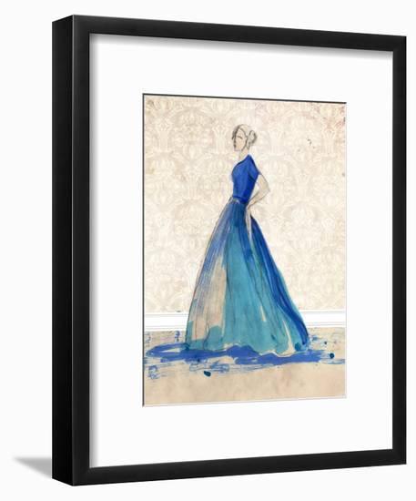 Blue Danube II-Alicia Ludwig-Framed Art Print