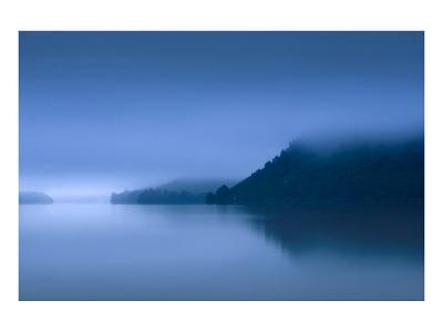 Blue Dawn Ullswater--Art Print