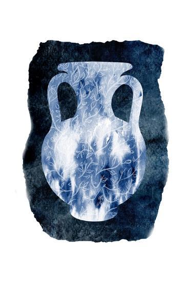 Blue Decor-Sheldon Lewis-Art Print