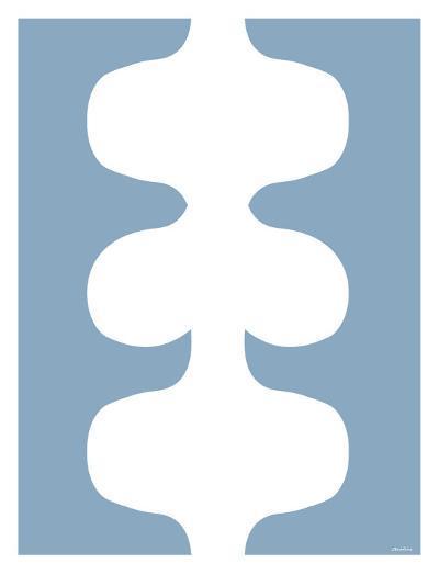 Blue Design, no. 115-Avalisa-Art Print