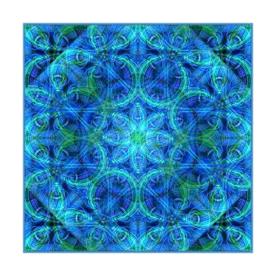 Blue Diamond-Alaya Gadeh-Art Print