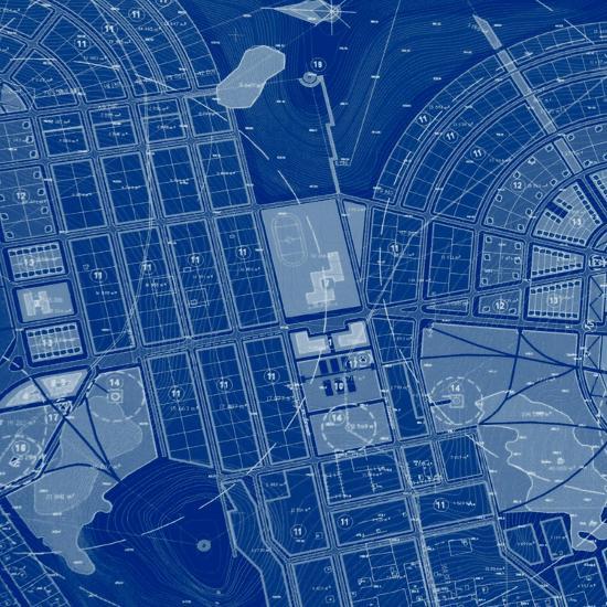Blue Drawing-Andreyuu-Art Print