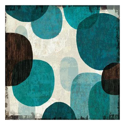 Blue Drips I-Michael Mullan-Premium Giclee Print