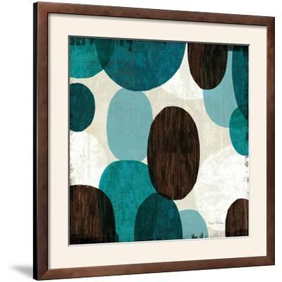 Blue Drips II--Framed Photographic Print