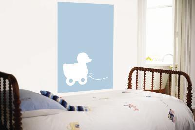 Blue Ducky-Avalisa-Wall Mural