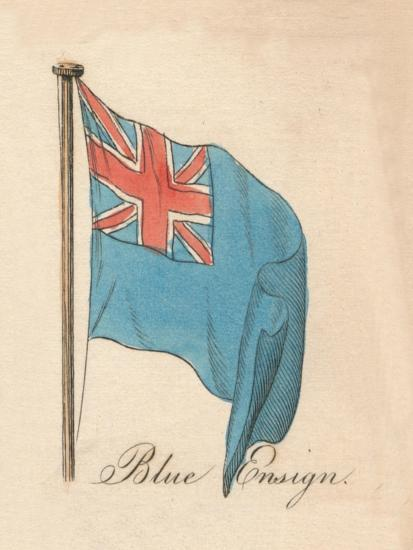 'Blue Ensign', 1838-Unknown-Giclee Print