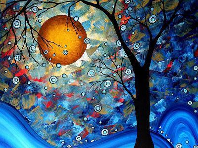Blue Essence-Megan Aroon Duncanson-Premium Giclee Print