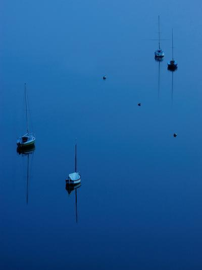 Blue Evening on Britany-Philippe Manguin-Photographic Print