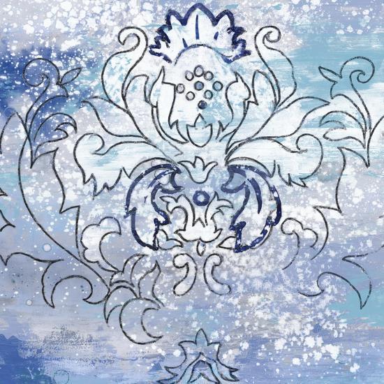 Blue Ex II-Eva Watts-Art Print