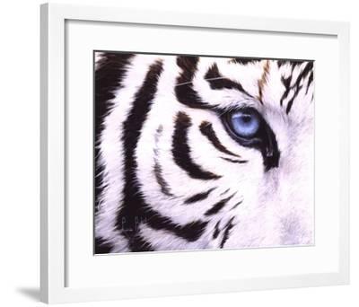 Blue Eye-Lucie Bilodeau-Framed Art Print