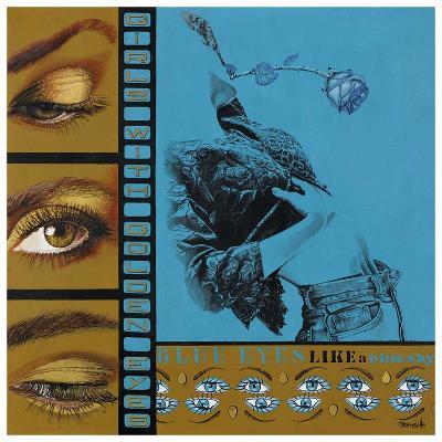 Blue Eyes-Joëlle Vermeille-Art Print