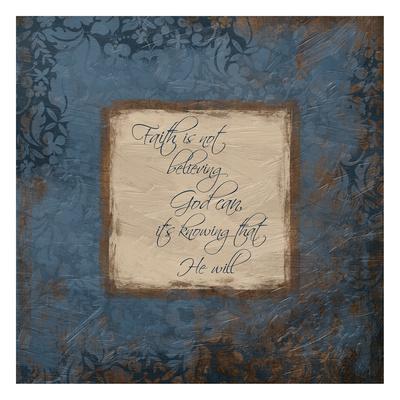 Blue Faith-Jace Grey-Art Print