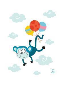 Ballooony Chimp by Blue Fish