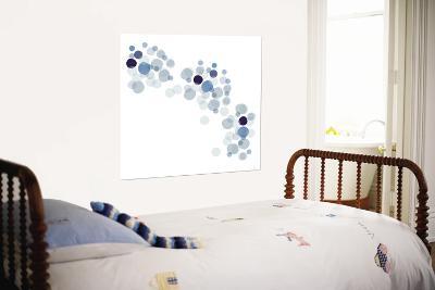 Blue Float--Wall Mural