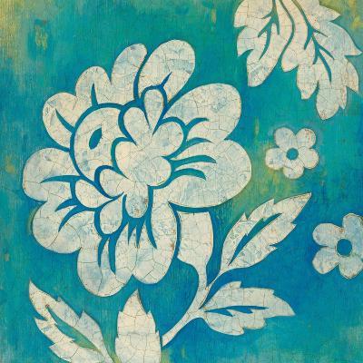 Blue Floral-Hope Smith-Art Print