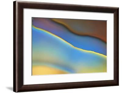 Blue Flow-Cora Niele-Framed Photographic Print