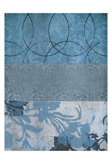 Blue Flower 1-Cynthia Alvarez-Art Print