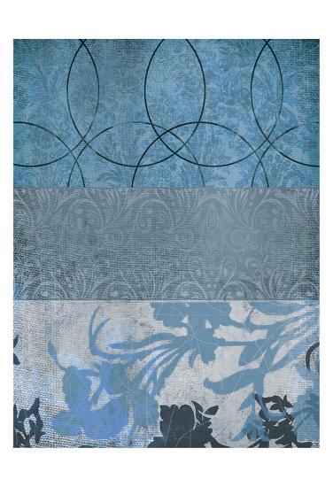 Blue Flower 2-Cynthia Alvarez-Art Print