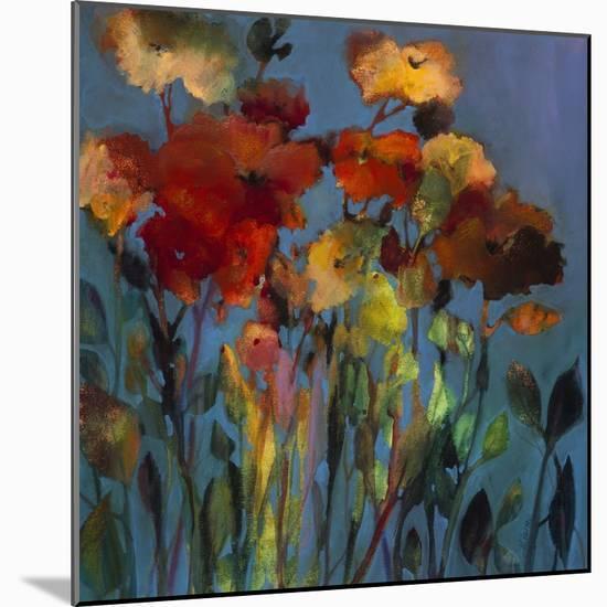Blue Flower-Michelle Abrams-Mounted Premium Giclee Print
