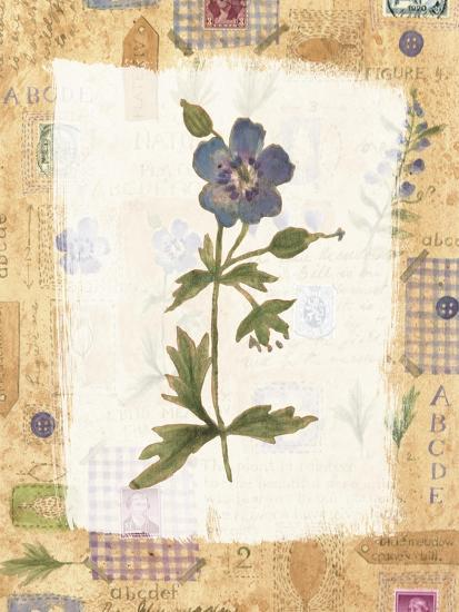 Blue Flower- Hope Street Designs-Giclee Print