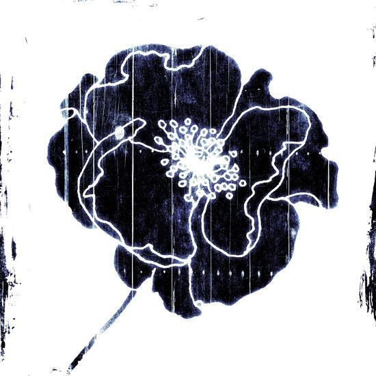 Blue Flower-Jace Grey-Art Print