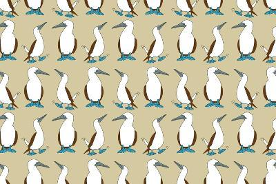 Blue Footed Booby-Joanne Paynter Design-Giclee Print