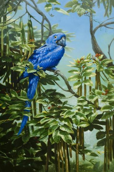 Blue for You-Michael Jackson-Giclee Print