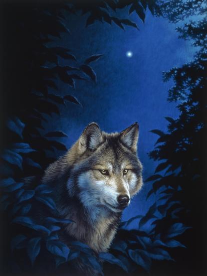 Blue Forest-Joh Naito-Giclee Print