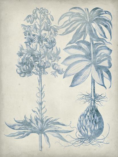 Blue Fresco Floral I-Vision Studio-Art Print