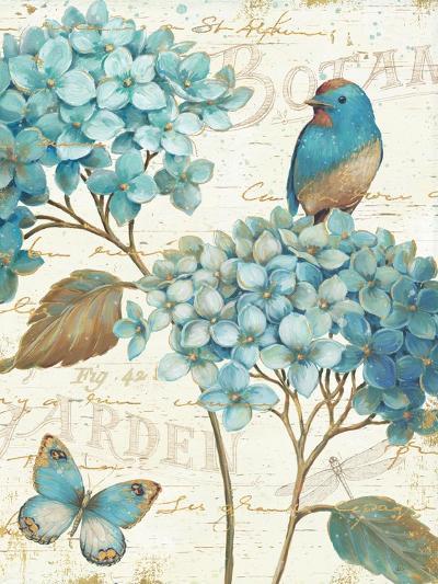 Blue Garden III Crop-Daphne Brissonnet-Art Print
