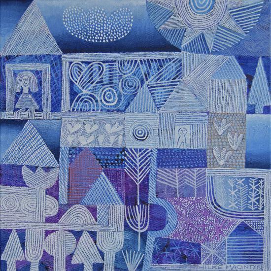 Blue Gardens-Hilke Macintyre-Giclee Print