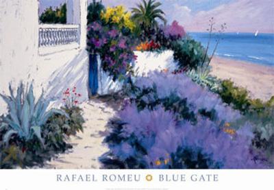 Blue Gate-Rafael Romeu-Art Print